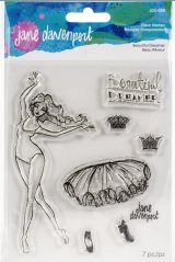 Beautiful Dreamer :Jane Davenport Whimsical & Wild Collection Clear Stamps Set