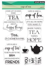 Cup of Tea:Penny Black Clear Stamps
