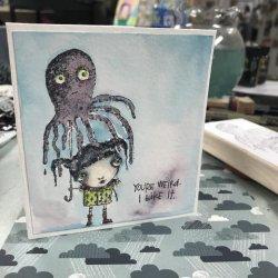 画像2: Squidbrella(Cling Stamp)