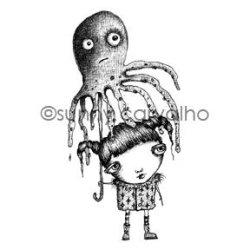 画像1: Squidbrella(Cling Stamp)