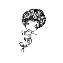 画像1: Kiwi-Maid (Cling Stamp)