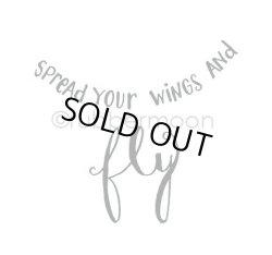 画像1: Spread Your Wings and Fly (Cling Stamp)