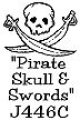 Pirate Skull and Swords(UM)