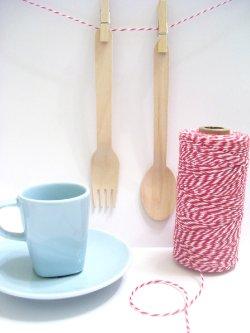画像2: Maraschino( Red & White) Eco-Luxe Baker's Twine