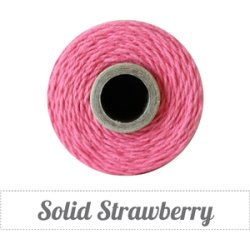 画像1: Solid Strawberry Twine Spool