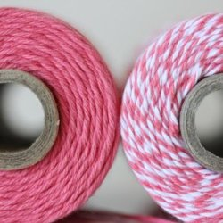 画像5: Solid Strawberry Twine Spool