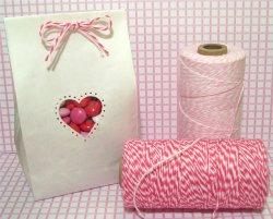 画像2: Blossom ( Light Pink & White) Eco-Luxe Baker's Twine
