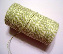 画像2: Honeydew ( Light Chartreuse Green & White) Eco-Luxe Baker's Twine
