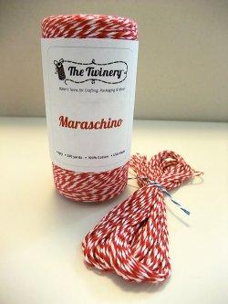 画像1: Maraschino( Red & White) Eco-Luxe Baker's Twine