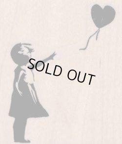 画像1: Banksy Balloon Girl 2 3/4 x 3
