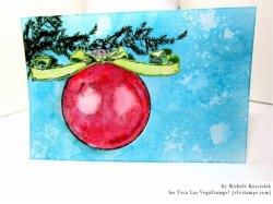 画像2: Christmas Ball 2 3/4 x 3 1/4