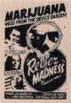 Marijauna Reefer Madness Ad 2 1/4 x 3