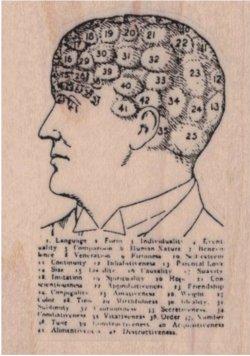画像1: Numbered Head 1 3/4 x 2 1/4