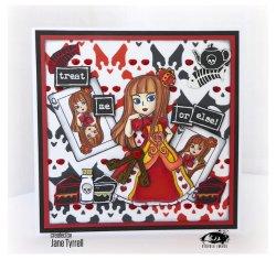 画像3: Dark Hearts Stencil